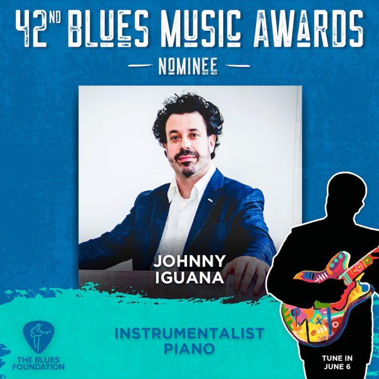 42nd Blue Music Awards nominee - Johnny Iguana - Instrumentalist Piano - The Blues Foundation